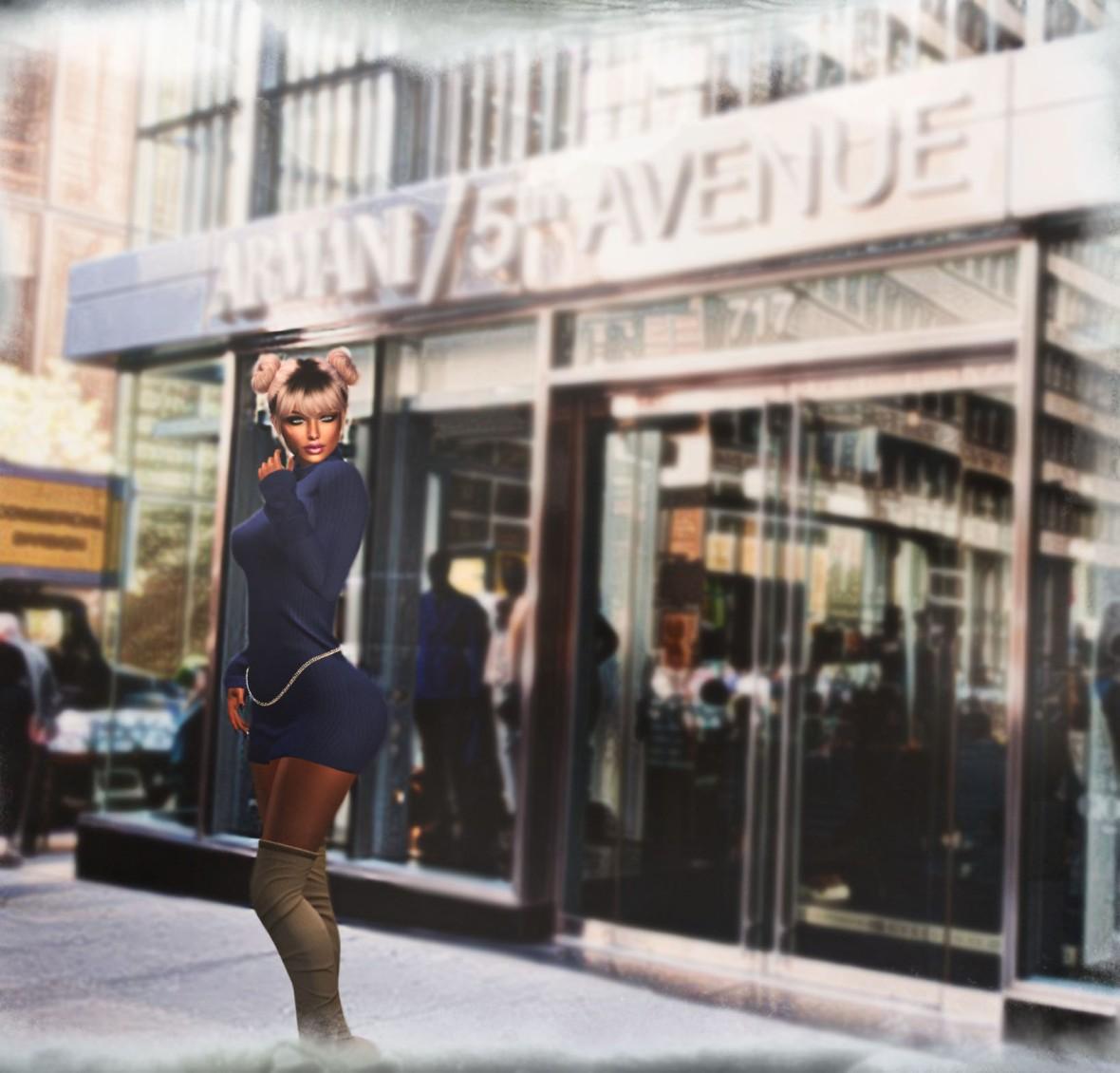 Giorgio Armani luxury fashion designer store at Fifth Avenue, Manhattan, New York City, USA,  shop, fashion, brand, chic